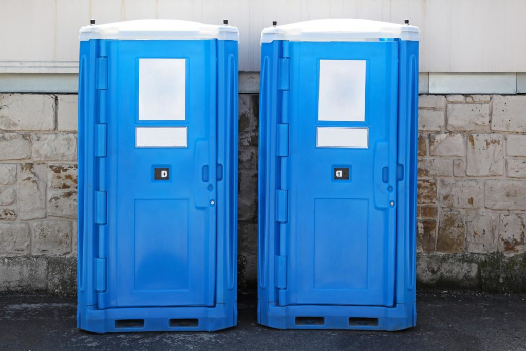 portable restrooms for emergency sites