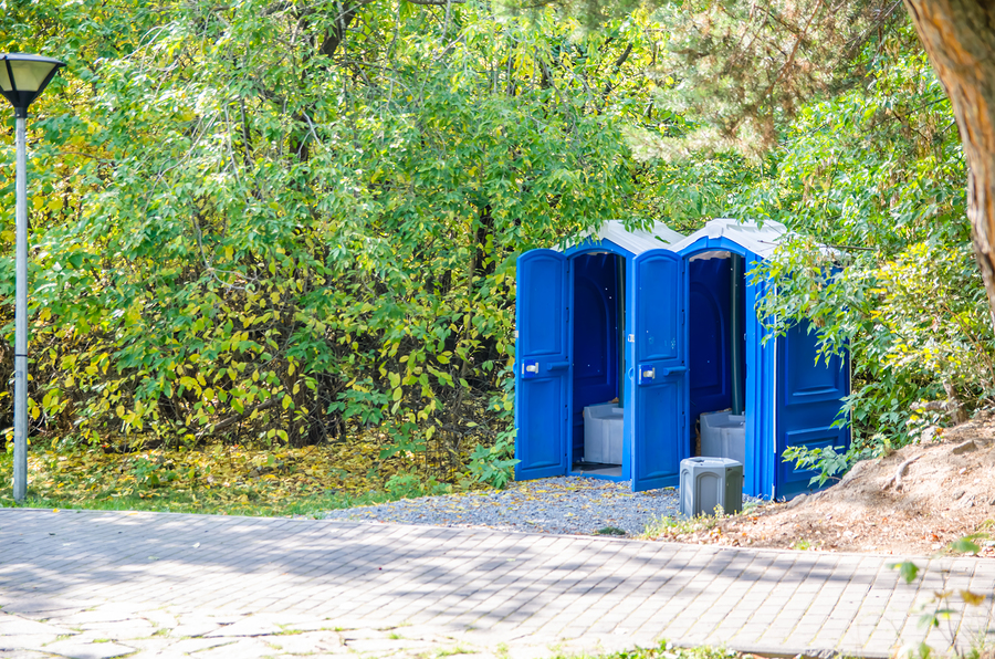 portable restrooms for sport events